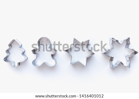 cookie cutters for homemade cookies, cookie cutters, cookie cutters on white background #1416401012