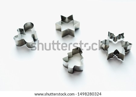 cookie cutters, metal cookie molds #1498280324