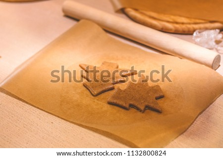 Cookie shape for baking #1132800824
