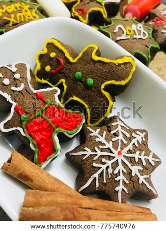 cookies for new year Stok fotoğraf ©