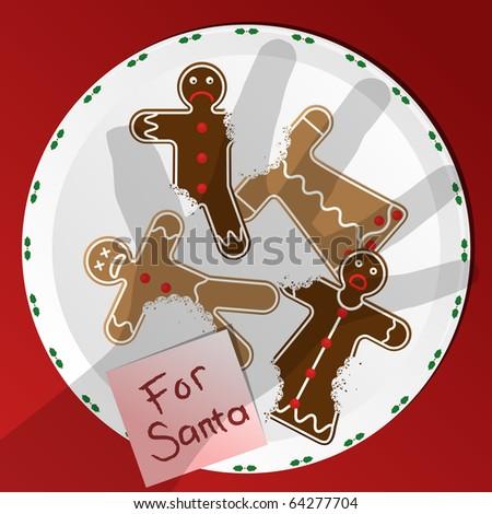 Cookies for Santa - raster
