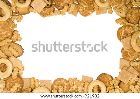 Cookies frame isolated