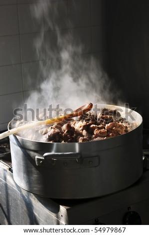 Cooking braised