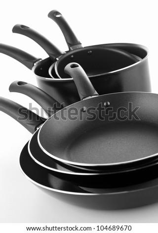 cooking pot and frying pan
