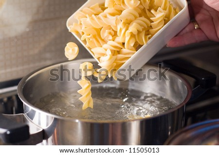 Cooking some pasta