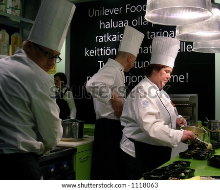 Cooking time - stock photo