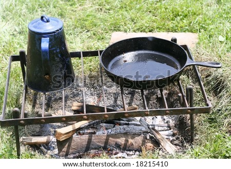 Cooking utensils used during the civil war