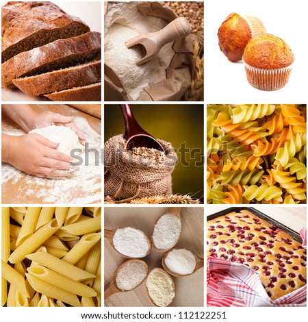 Cooking with wheat flour: baking, pasta and grain