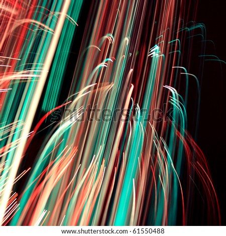 Cool abstract glowing lines