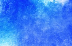 Cool colored blue gradient with a grated concrete texture. Colorful blue background