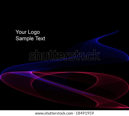 cool corporation logo presentation template stock photo 18491959 shutterstock. Black Bedroom Furniture Sets. Home Design Ideas