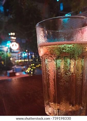 Cool drinks. Cool glasses. #739198330