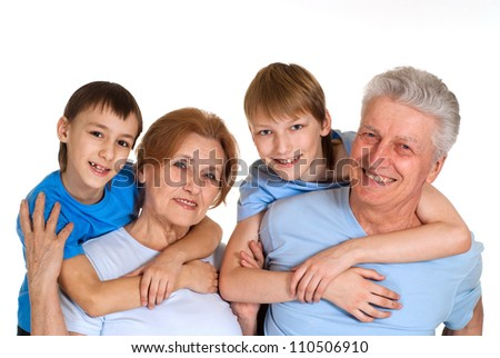 Cool family having a good leisure time in each other's company
