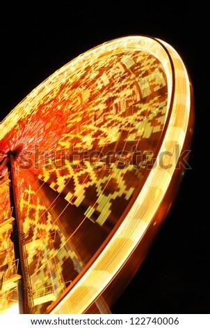 cool ferris wheel in the night