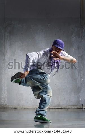 Cool Hip Hop Dance Poses Cool looking hip-hop dancer