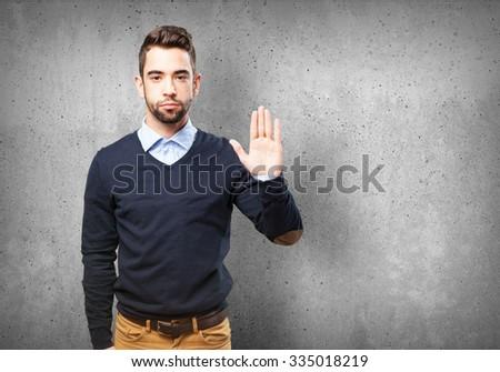cool man swearing #335018219