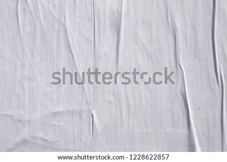 Cool original paper white street poster banner background concept idea