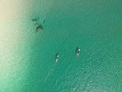 Coolangatta from above, Gold Coast, Queensland, Australia.