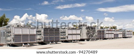 Coolers for Natural gas compressor stations
