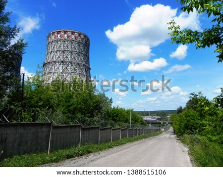 Cooling towers for cooling water #1388515106