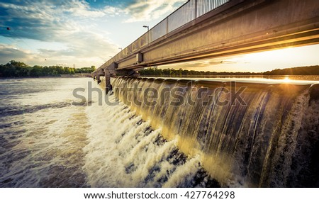 coon rapids dam on the upper...