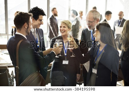 Cooperation Meeting Networking Teamwork Fun Concept