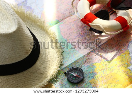 Coordinates Marine:The compass helps us find more accurate marine coordinates. #1293273004