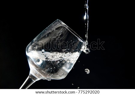 Shutterstock copa de agua
