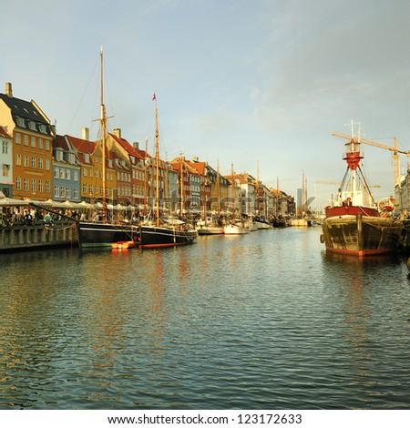 Copenhagen, Denmark. Nyhavn