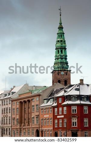 Copenhagen, Denmark - old town