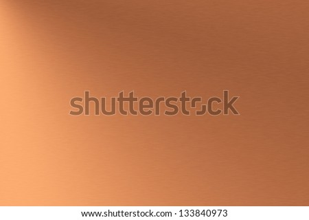 Copper brushed metal as background #133840973