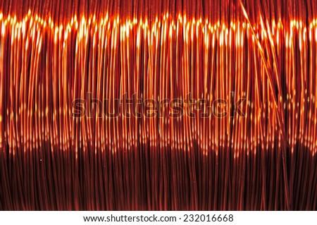 Copper coils Сток-фото ©