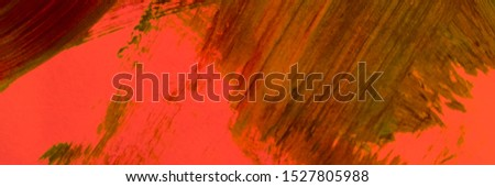 Copper Dirty Art Painting. Fire Color Spots Distressed Silk. Pumpkin Artistic Dirty Painting. Carrot Scattered Acrylic Blobs. Orange Paint Splash On Cloth. Amber Dirty Modern Artwork.