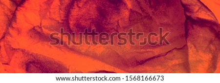 Copper Dirty Art Wallpaper. Carrot Vintage Paint Spots. Amber Dirty Art Painting. Fire Color Handmade Vintage. Pumpkin Paint Splash On Cloth. Orange Dirty Textile Design.