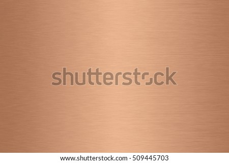 Copper metal gradient background brushed surface #509445703