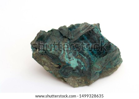 copper ore from a copper mine in Chile #1499328635
