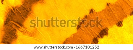 Copper Washed Out Effect. Sun Warm Mustard Ink Splash Paint. Amber Dirty Art Painting. Sunny Pumpkin Tie Dye Watercolor Art. Yellow Orange Tie Dye Wash. Spotted Batic Silk Cloth.