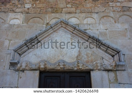 Coppito, L'Aquila, Abruzzo.  Church of St. Peter the Apostle.  It is considered the most ancient of the churches in the intra moenia area, because it was built on the site of a previous temple. #1420626698