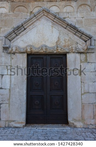 Coppito, L'Aquila, Abruzzo.  Church of St. Peter the Apostle.  It is considered the most ancient of the churches in the intra moenia area, because it was built on the site of a previous temple. #1427428340