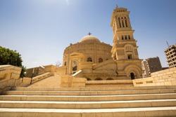 Coptic Christians church in Cairo Egypt