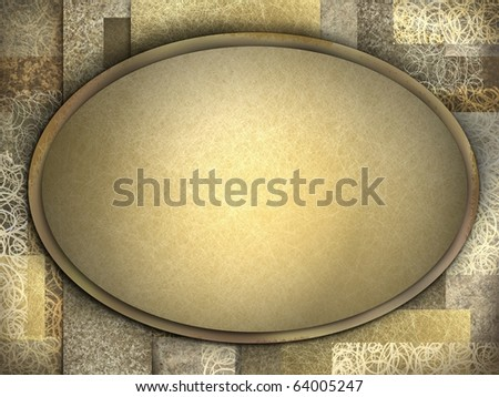 copy space for adding your own text on golden brown elegant grunge background with texture