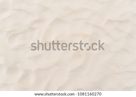 Copy space of sand beach texture abstract background. Summer vacation and travel relaxation concept. Vintage tone filter effect color style. #1081160270
