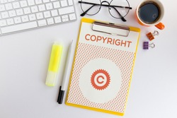 COPYRIGHT AND WORKPLACE CONCEPT