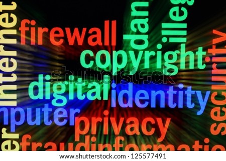 Copyright identity privacy