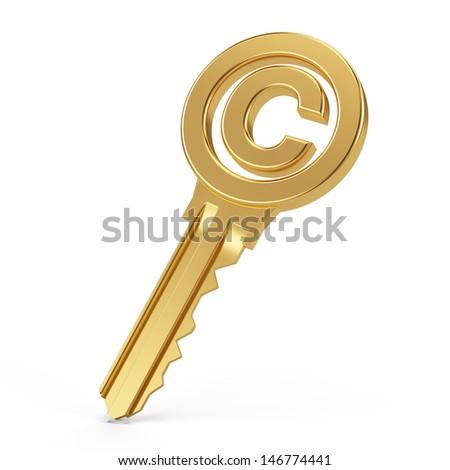 copyright key