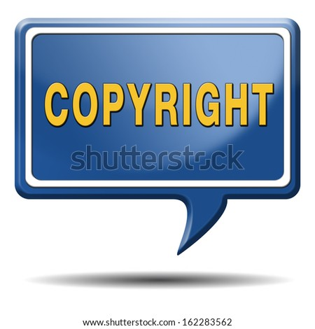 copyright protected by law registered trademark and patent protection