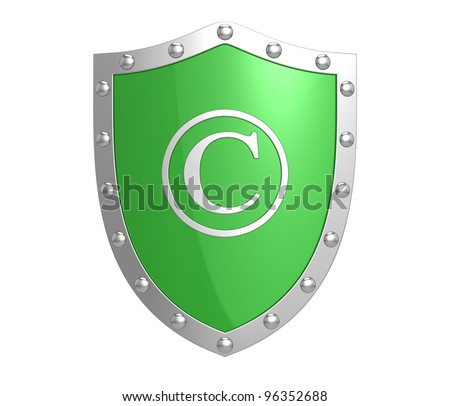 Copyright protection shield
