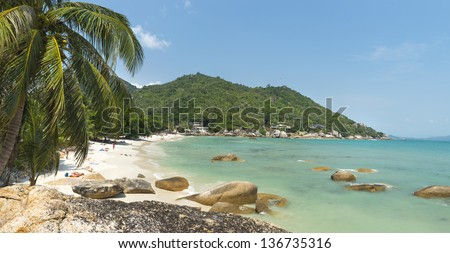 Coral Cove beach view at Koh Samui Island Thailand #136735316