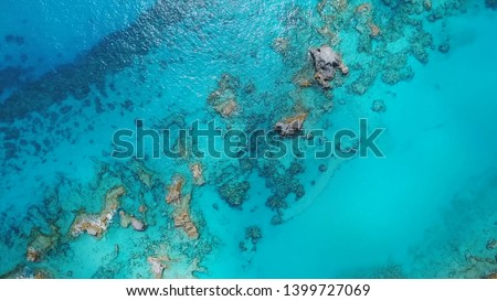 Coral reefs off the coast of Bermuda, clear water of the Atlantic and amazing landscapes Сток-фото ©