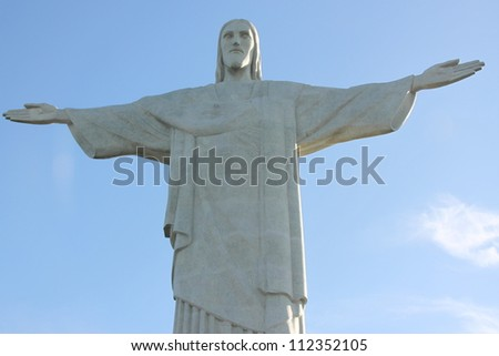 Corcovado, Rio de Janeiro, Brazil. - stock photo